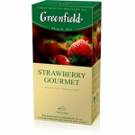 "Чай ""Greenfield"" Strawberry Gourmet"